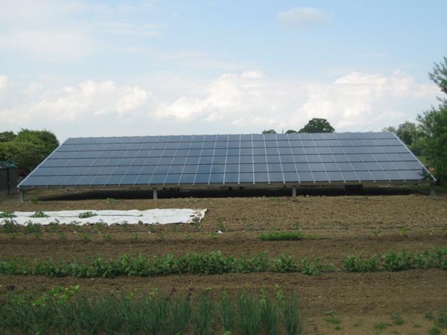 Abitazione privata a Parma - serra da 12.375 kwp